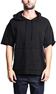 Men's Oversized Solid Color Subdued Hues Baggy Boxy T-Shirt & Hoodie