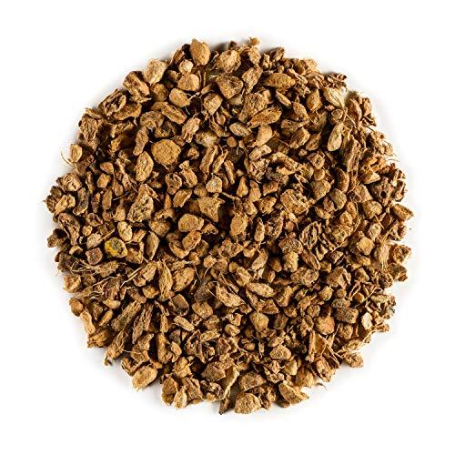 Ingwer Stückchen Biologischer Kräutertee Ingwerstückchen – traditionell ayurvedisch – Rhizomwurzel – Tanacetum Parthenium Ginger Wurzel - Ingwerwurzel - Ingwertee 100g