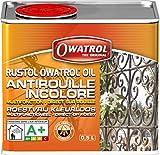 OWATROL – OIL – 0,5 L – Farbloser Rostschutz – dringt ein und stoppt Rost, Schutz für Oberflächen aus Metall Kunststoff Glas Holz – Haftgrund und Grundierung – Korrosionsschutz für viele Oberflächen