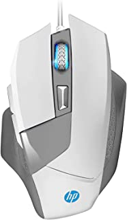 HP Gaming Mouse Wired, Ergonomic Game USB Gaming Laptop Mice RGB, [4000 DPI] Programmable Comfortable Grip 6 Buttons [G200...