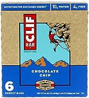 CLIF BAR 【クリフバー エナジーバー チョコレートチップ味 6本入り】 【並行輸入商品】