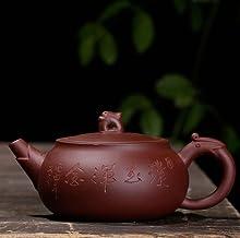 Czajnik hurtowy surowej rudy ręcznie robiony fioletowy piasek czajniczek do herbaty w błocie, jak chcesz 140 ml