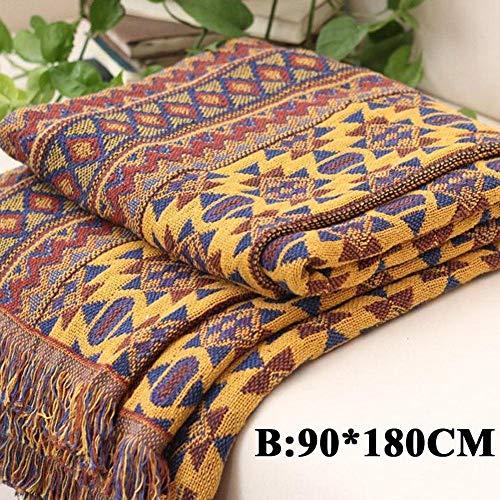 onepants katoenen draad breien linnen sofa handdoek breien dikke bohemian bed deken deken deken