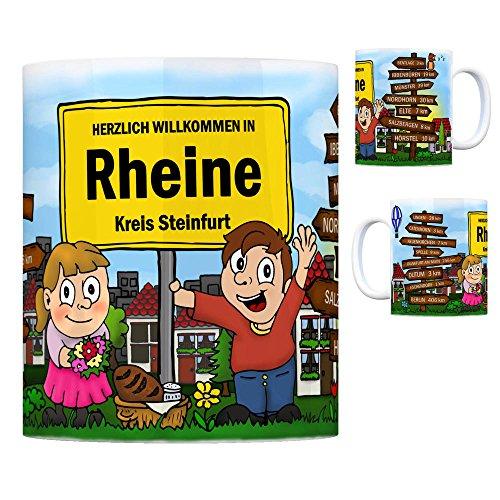 trendaffe - Herzlich Willkommen in Rheine Kaffeebecher