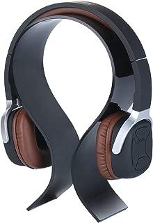 Headphone Stand, niceEshop(TM) Headphone Headset Earphone Stand Display Holder Hanger Suitable for All Headphone Sizes (Black)