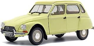 Solido Citroen Dyane 6 Jonquille-1/18-S1800306 - Coche en Miniatura de colección, Color Amarillo