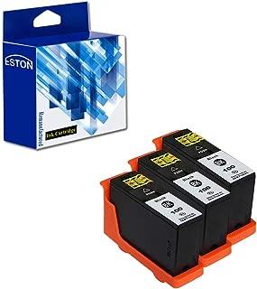 ESTON Compatible Replacement for Lexmark 100XL Black Ink Cartridges for Lexmark Prevail Pro705 Prospect Pro205 Printer