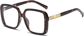 Designer Oversized Square Sunglasses for Women UV...