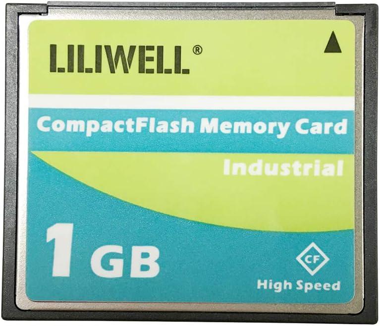 LILIWELL Original TS1GCF133 1GB 133x Type I Compact Flash Memory Card