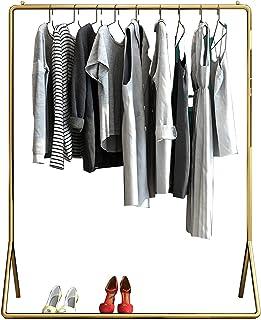MissZZ Porte-vêtements Nordique en Fer forgé, Haute capacité, présentoir de Rangement pour vêtements à Tige Unique, pour S...