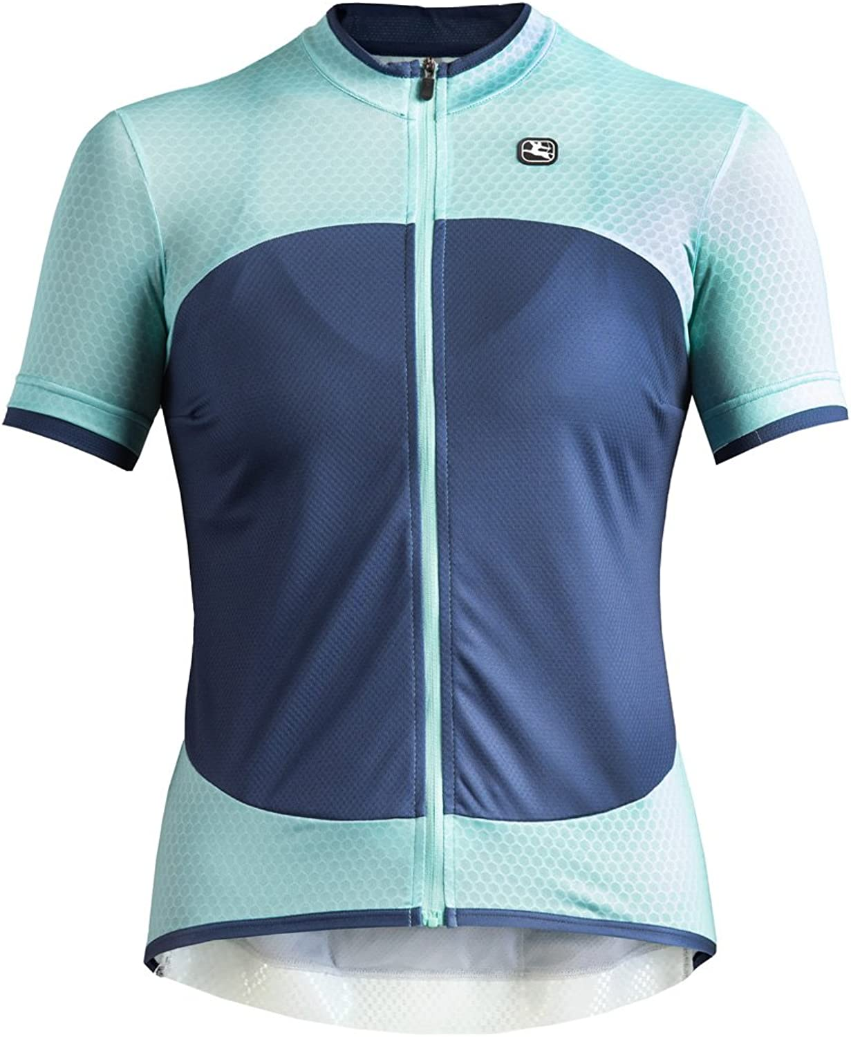 Giordana SilverLine Womens Bike Jersey Mint Navy 2018
