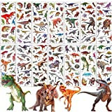 UPINS 14 Diffrent Sheets (200+Count) Kids Dinosaur 3D Puffy Stickers, Craft Scrapbooking for Childrens