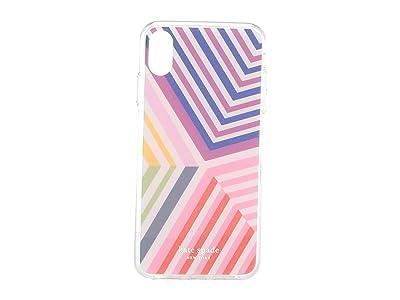 Kate Spade New York Glitter Geobrella Phone Case For iPhone XS Max (Multi) Cell Phone Case