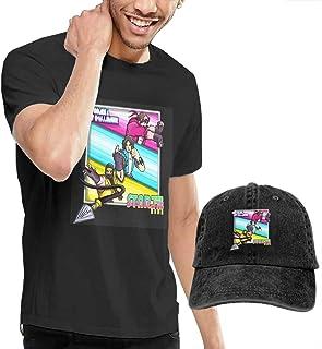 Amazon.com: Dingtai Starbomb Ninja Brian Mens Short Sleeve ...
