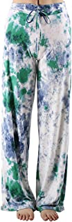 Buttery Soft Pajama Pants for Women � Floral Print Drawstring Casual Palazzo Lounge Pants Wide Leg for All Seasons