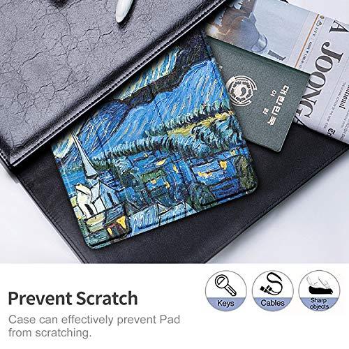 IVSO Hülle Kompatibel mit Samsung Galaxy Tab A7 10.4 2020, Schlank Slim Hülle Schutzhülle Hochwertiges PU mit Standfunktion, Samsung Galaxy Tab A7 T505/T500/T507 10.4 Zoll 2020, CH-17