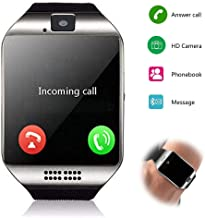 Smartwatch Unlocked Watch Cell Phone All in 1 Wireless Smart Watch with Camera Handsfree Call for Samsung LG HTC Motorola ...