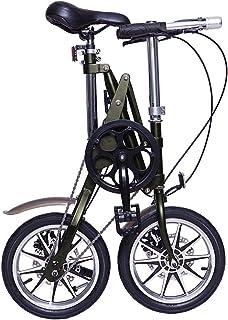 折りたたみ自転車 14インチ CMS BIKE 次世代折りたたみXフレーム ディスクブレーキ