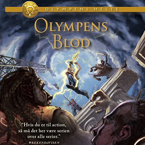 Olympens blod audiobook cover art