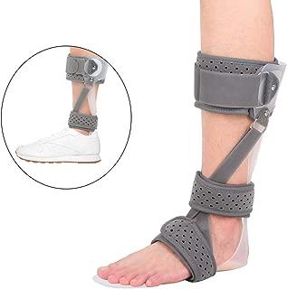 iiHOME Drop Foot Brace, Ankle Support Splint, Ankle Foot Orthosis (AFO) (M-Left)