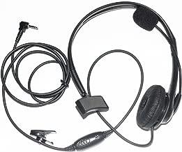 Caroo Walkie Talkie Earpiece Noise Cancelling Headphone Overhead Headset for 1 PIN 2.5MM Motorola COBRA Talkabout Walkie Talkie 2 Way Radio T6200C T5800 T7200 T5720