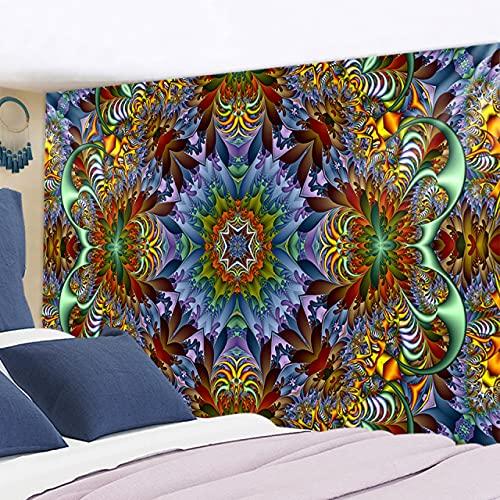 RichAmazon Tapiz de mandala para colgar en la pared india 3D jade decoración del hogar sala de estar fondo alfombra de pared tela hippie manta gt322-12,200x150 cm