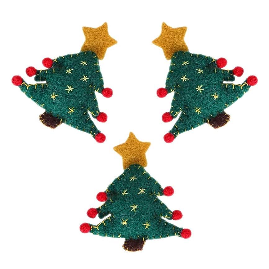 矢じり受信ダウンウールフェルト クリスマスツリー 飾り 手作り 不織布 クリスマスツリー ファブリック ウォールウィンドウ ハンギング 贈り物 プレゼント Cutelove