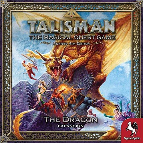 Pegasus Spiele 56206E Talisman - The Dragon (expansión)