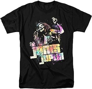 Popfunk Janis Joplin Psychedelic T Shirt & Stickers