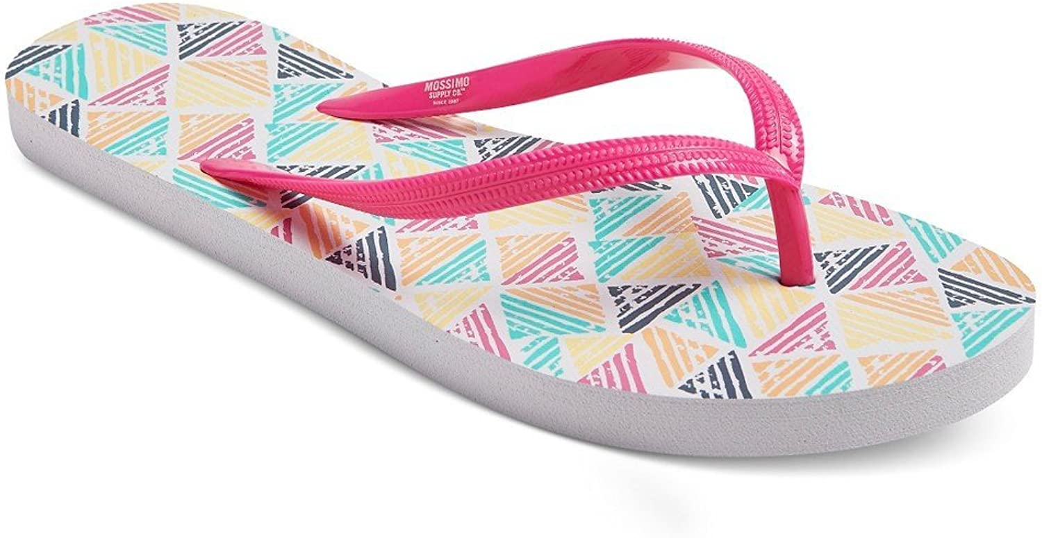 Masked Brand Women's Multi-colord Letty Flip Flop Sandals by Mossimo