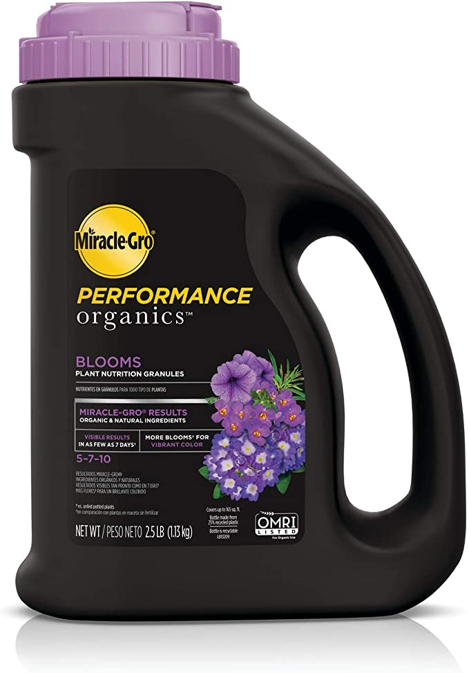 Miracle-Gro Performance Organics Blooms Plant Nutrition Granules