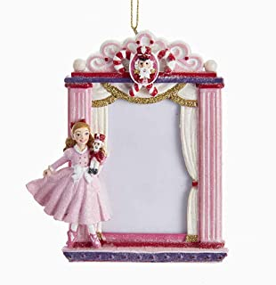 Kurt Adler Clara Nutcracker Suite Picture Frame Ornament