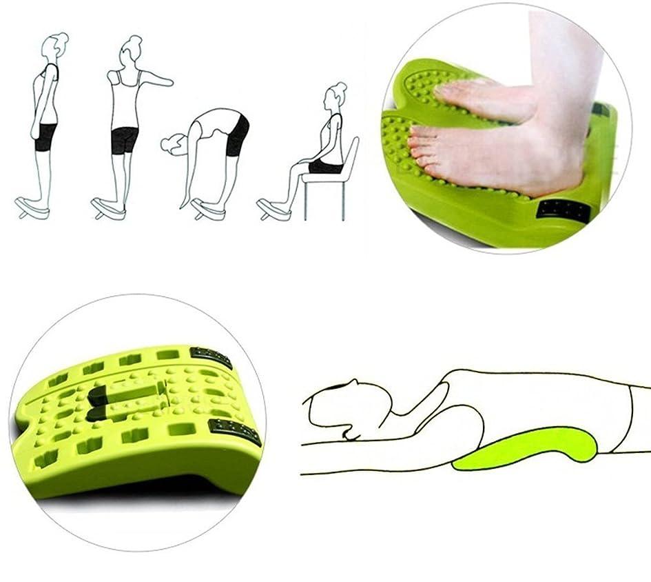 染色土曜日お嬢IWANNA足のストレッチマルチ傾斜ボード3段階の調節可能な傾斜+など、足のストレッチマッサージ(海外直送品)