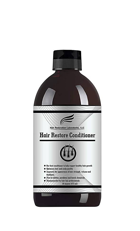 2019 Hair Restoration Laboratories' Hair Restore DHT Blocking Hair Loss Conditioner. THE MOST EFFECTIVE DAILY USE CONDITIONER TO PREVENT HAIR LOSS AND TO PROMOTE HAIR GROWTH. FOR MEN AND WOMEN