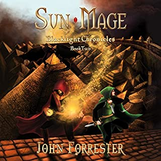 Sun Mage audiobook cover art