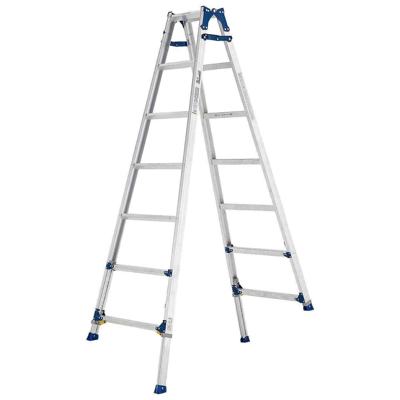 持ってるフィッティング備品アルインコ(ALINCO) アルミ製脚伸縮式はしご兼用脚立 PRE210F