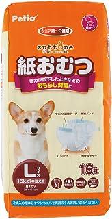 ペティオ (Petio) ずっとね 紙おむつ 中型犬用 L サイズ