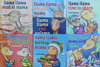 Llama Llama COMPLETE 7 Book Set Pack Collection  Llama Llama and the Bully Goat Holiday Drama Red Pajama Time to Share Home with Mama Mad at Mama Misses Mama