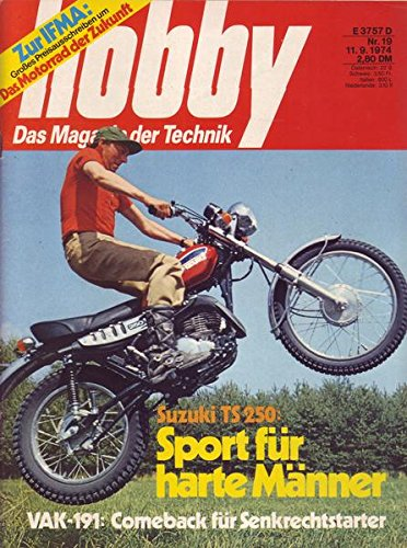 Hobby Nr. 19 - 11.9.1974 - Sport für harte Männer