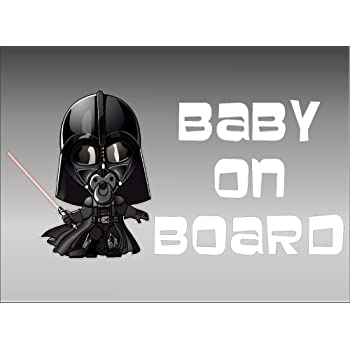Unique Graphix Geekery Star Wars Inspired Stormtrooper Family Decal Set of 5