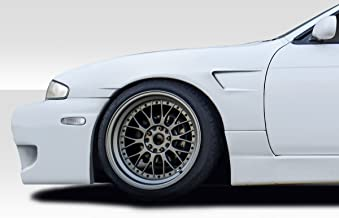 Extreme Dimensions Duraflex Replacement for 1995-1996 Nissan 240SX S14 RBS V1 30mm Front Fenders - 2 Piece