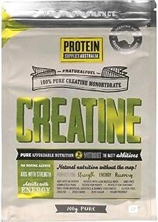 Protein Supplies Australia Pure Creatine Monohydrate Powder 200 g, Pure, 200 g
