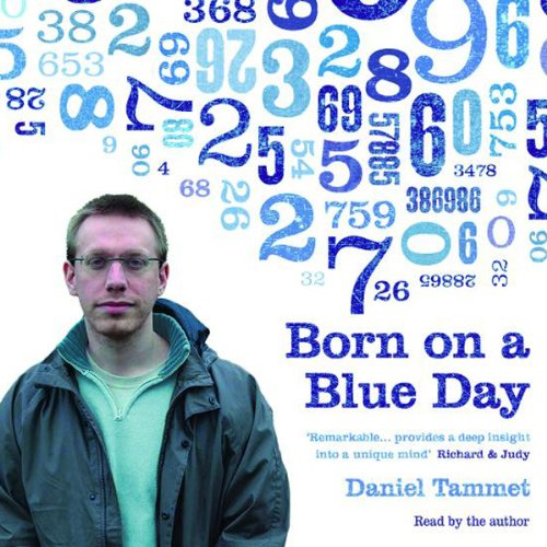 Born on a Blue Day audiobook cover art