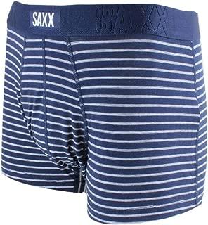 Saxx Underwear Undercover Men's Underwear –Trunk Briefs with Built-in Ballpark Pouch Support – Navy Skipper Stripe, XX-Large