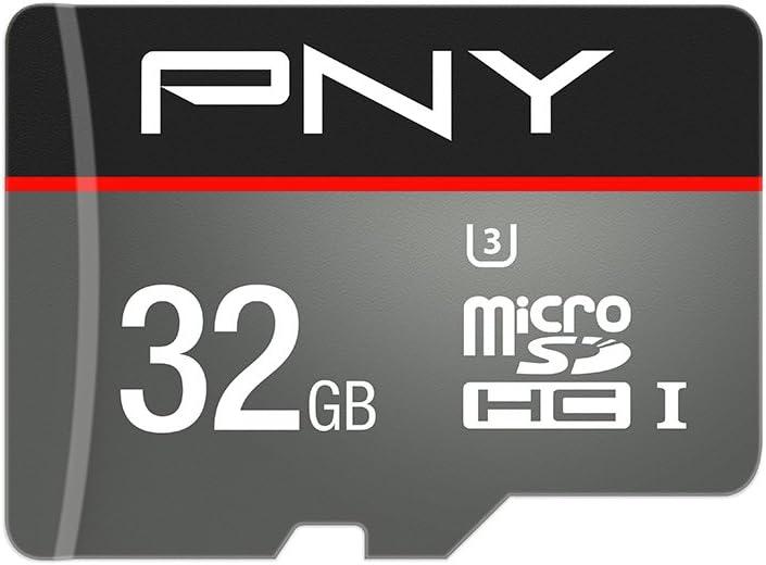 PNY Turbo MicroSDHC Memory Card 32 GB Class 10 UHS-1 U3 100 Mb/s (New Version)