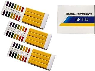 comprar comparacion Fontee® 240 tiras tornasol pH de 1 a 14 papel de prueba- Ideal para probar muchas sustancias cotidianas habituales, como z...