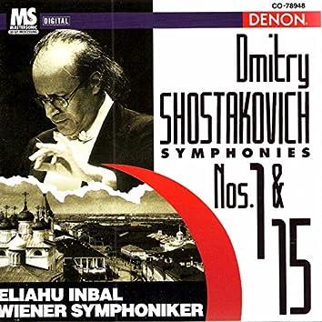 Shostakovich: Symphonies No. 1 & No. 15