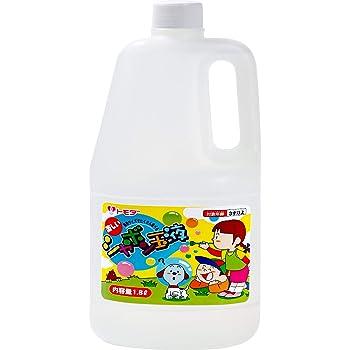 トモダ しゃぼん玉 1800ml 日本製 大容量 シャボン玉液 補充液