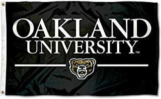 College Flags and Banners Co. Oakland Grizzlies Wordmark Flag
