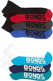 5 X Bonds Mens Quarter Crew Socks Everyday Sport Running Sock Black White 6-10 3 x White 2 x Black Multicolor